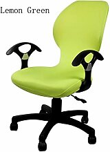 zerci Strechhusse Tuch Stuhl, abnehmbarer Bezug Pads Stretch Kissen federnden Stoff Bürostuhl, Color 15, Einheitsgröße