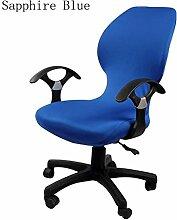 zerci Strechhusse Tuch Stuhl, abnehmbarer Bezug Pads Stretch Kissen federnden Stoff Bürostuhl, Color 1, Einheitsgröße