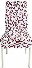 zerci Stretch abnehmbar waschbar kurz Sessel Cover Protector Schonbezug für Hochzeit Party restaraunt Banquet Home Decor Esszimmerstuhl Abdeckung, Color 10, Style 1