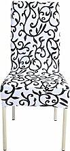 zerci Stretch abnehmbar waschbar kurz Sessel Cover Protector Schonbezug für Hochzeit Party restaraunt Banquet Home Decor Esszimmerstuhl Abdeckung, Color 9, Style 1