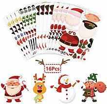 ZERHOK 16Stk Weihnachten Mitgebsel Kinder Selber