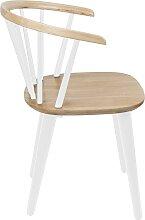 Zermatt - Stuhl - Weiß