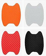 ZERO FAN Auto Aufkleber Sticker Embelm-Auto Türschutz Pad Wasserdicht, Motorrad Aufkleber, 1 Satz, 5 Farben
