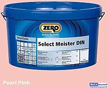 ZERO Select Meister DIN 12,5 L Profi Wandfarbe Innenfarbe, Pink Pearl