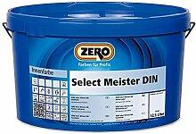 ZERO Select Meister DIN weiß 12,5 l, Innenfarbe,