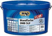 ZERO Wandfarbe 2000 SLF Plus weiss 2,5 L
