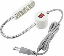 Zerodis 30 LEDs Nähmaschine Licht Schwanenhals