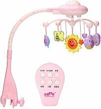 Zerodis Baby Musik Mobile Kinderbett Hängendes
