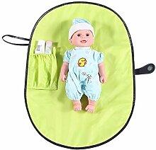 Zerodis Baby Wickelauflage Wickelunterlage mit