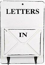 Zerodis Briefhalter, Holzbriefkasten, Briefablage,