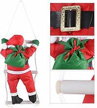 Zerodis Klettern auf Strickleiter Santa Claus Toy