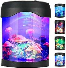 Zerodis Mini Aquarium Licht USB Aquarium Mood