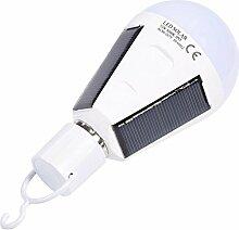 Zerodis Solar Panel Lampe LED Glühbirne