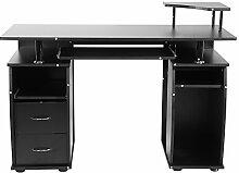 Zerone Computertisch,Laptoptisch,Arbeitstisch mit