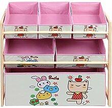 Zerone Toy Organizer Kinder, Spielzeugregal mit