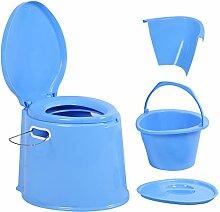 Zerone Tragbare Toilette,Außentoilette