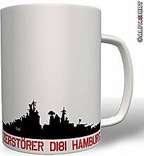 Zerstörer D181 Hamburg - Tasse Becher Kaffee #943