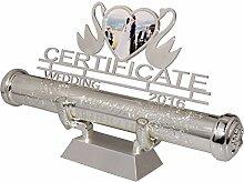 Zertifikatsinhaber , FGF Silber plattiert