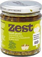 Zest Pesto Für Vegetarier geeignet 165g