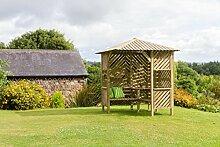zest4leisure Brighton Eck-Gartenlaube–Holz