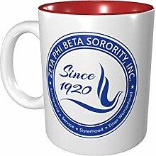 Zeta Phi Beta Farbige Tasse Porzellan Tasse 330 ml