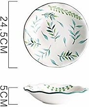 ZFDM Creative Unterglasur Color Keramik Geschirr