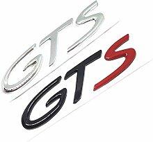 ZFGG Auto 3D-Metall-Styling Badge Aufkleber Chrom