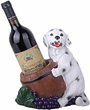 Zfggd Hund Weinregal Golden Retriever Statue