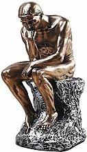 Zfggd Statuen Denker Philosophie Figur Kunst