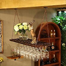 Zfggd Weinglas Halter, Vintage Weinglas Rack