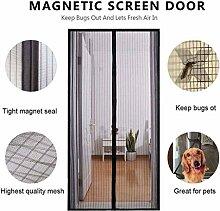 ZFHTAO Fliegengitter Tür Magnetisch Wohnzimmer