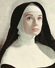 ZGDL Audrey Hepburn Nonne, DIY 5D Volldiamant