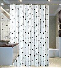 ZGP &Badezimmer Duschvorhang Wasserdicht