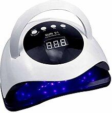 ZGPTX 80W UV-Lampe LED Nagellampe Hohe Leistung
