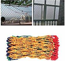 ZGQSW Balkon Kinder Fallschutz- Netze, Spielplatz