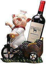 ZH-0 Funny Wine Bottle Holder Tischplatte Kleines