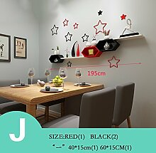 ZHANG-Wanddekoration- Kreative Gitterfarben