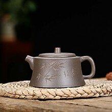 Zhangjinping Erz-Teekanne, handgefertigt, grüner