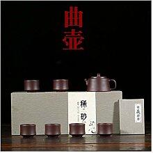 Zhangjinping Tee-Geschenk-Set, Teekanne mit Kung
