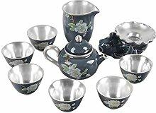 ZHANGJINPING Tee-Set Kung Fu Tee Keramik Emaille
