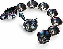 Zhangjinping Tee-Set mit bunten