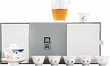 Zhangjinping Tee-Set mit Keramikbezug,
