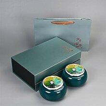 ZHANGJINPING Tee-Set mit Teebox für jährliche