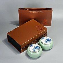 ZHANGJINPING Tee-Set Teebox aus Keramik für