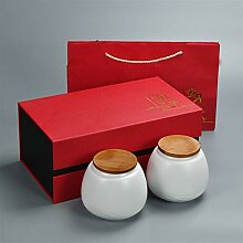 ZHANGJINPING Tee-Set Teebox aus Keramik, für