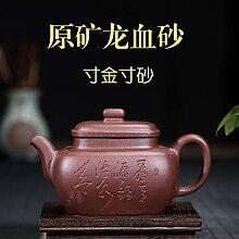 Zhangjinping Teekanne Famous Hand-ore Purple Ton