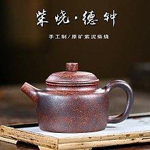 ZHANGJINPING Teekanne lila Ton Topf Haushalt