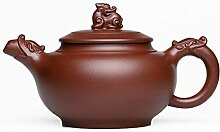 Zhangjinping Teekanne mit Drachen-Motiv,