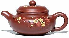 Zhangjinping Teekanne mit großer roter