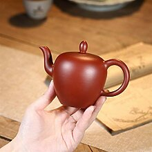 Zhangjinping Teekanne mit Kugelloch, groß, Ro